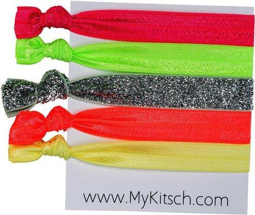 Kitsch Electric Slide Hair Ties