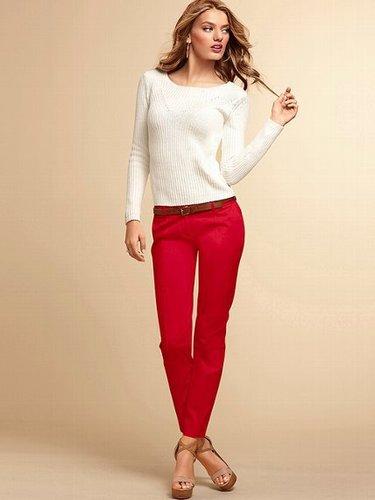 The Lexie Skinny Crop Pant