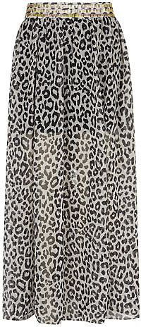 DP Collection Animal maxi skirt