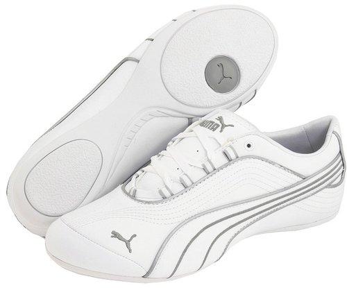 PUMA - Soleil FS Wn's (White/Puma Silver) - Footwear
