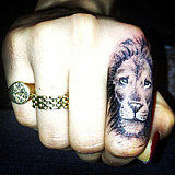 What Do You Think of Cara Delevingne's Fierce New Finger Tattoo?