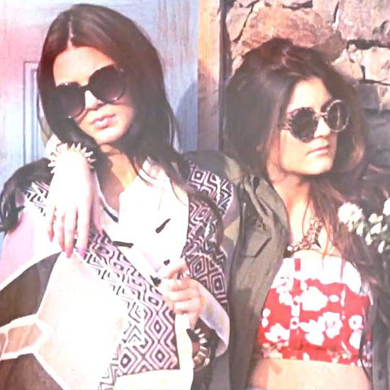 Kendall and Kylie Jenner on Designing Clothes — and Borrowing Their Sisters'