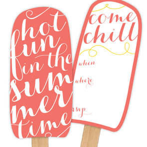 Popsicle Party Invitations, Games, and More For Kids