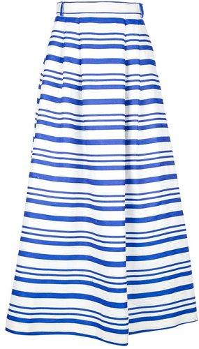 Dolce & Gabbana striped maxi skirt