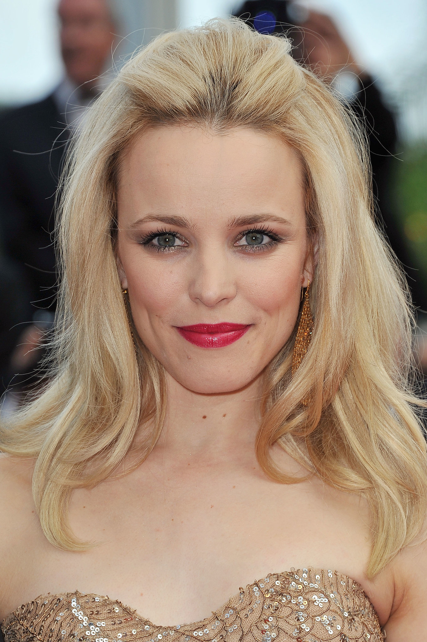 Rachel McAdams has seen a bevy of hair colors in her day ...