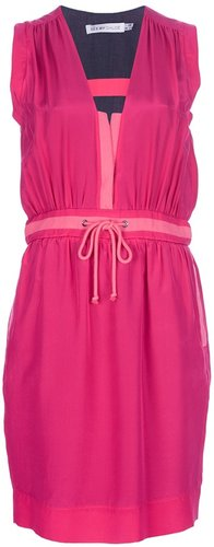 See By Chloé drawstring waist dress