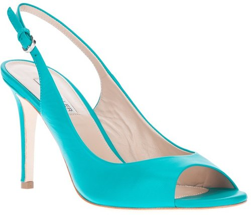 The Seller peep toe sandal