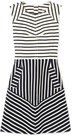 10 Crosby Derek Lam Sleeveless Dress With Seam Detail