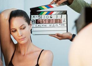 Christy Turlington New Face of Calvin Klein Underwear