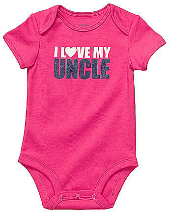 Carter ́s Infant I Love My Uncle Bodysuit