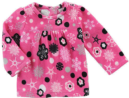 Babies R Us Koala Baby Girls' Long Sleeve Fleece Knit Top