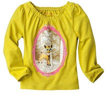 Cherokee ® Infant Toddler Girls' Long-Sleeve Top - Lime