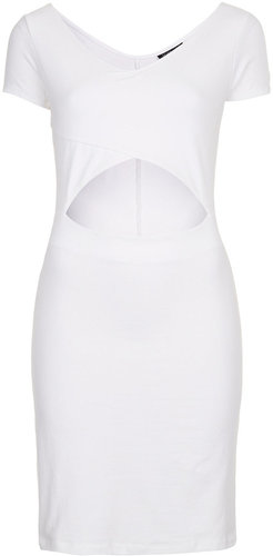 Crop Top Mini Bodycon Dress