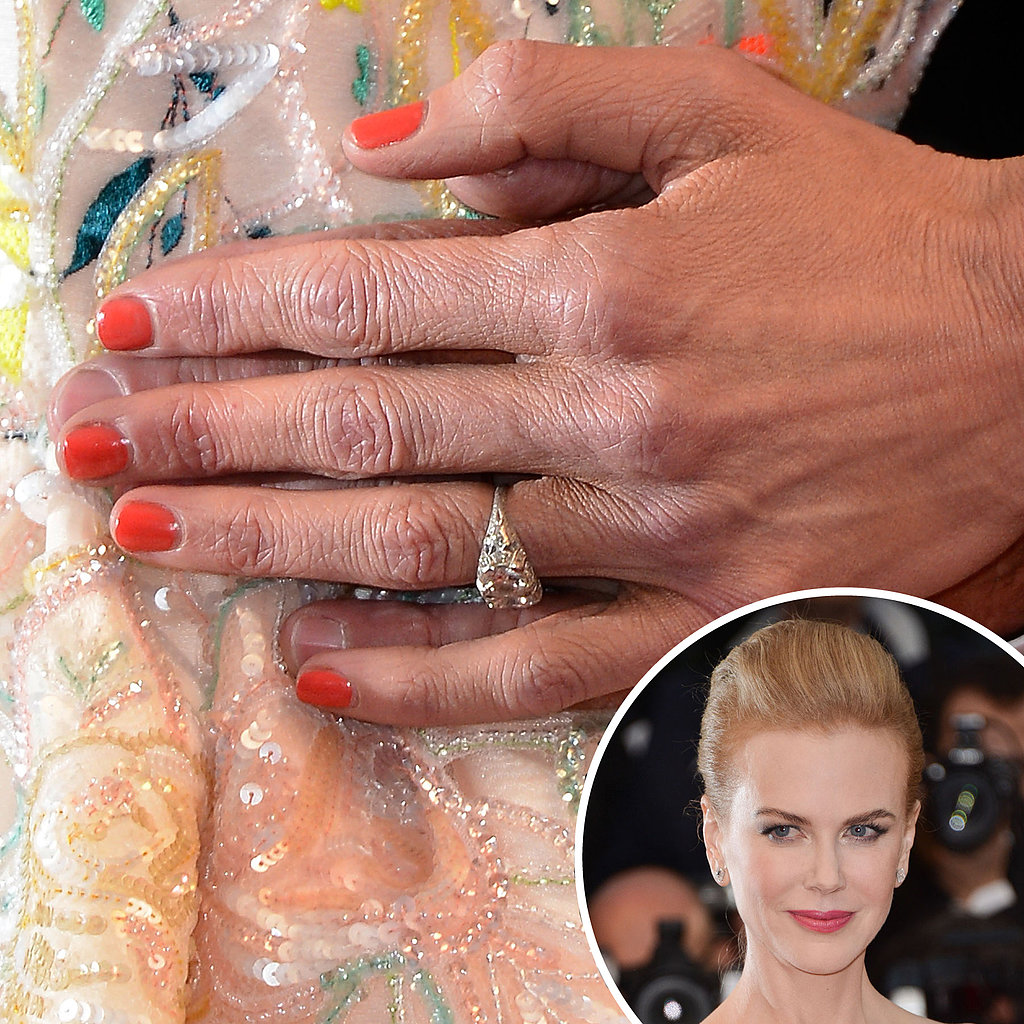 Juror Nicole Kidman picked up the orange hue from her multicolored gown at the premiere for The Great Gatsby.
