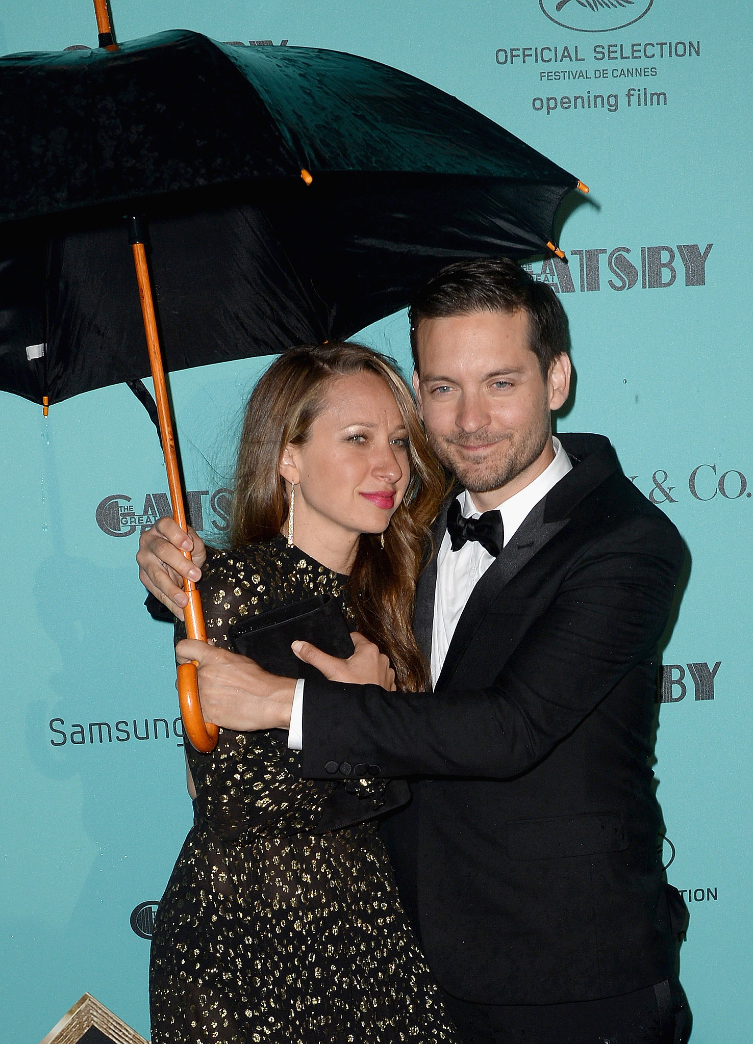 Tobey Maguire and Jennifer Meyer in 2013