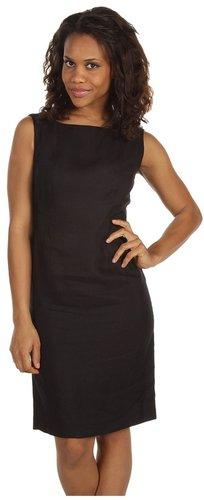 Jones New York - Grosgrain Trim Dress (Black) - Apparel