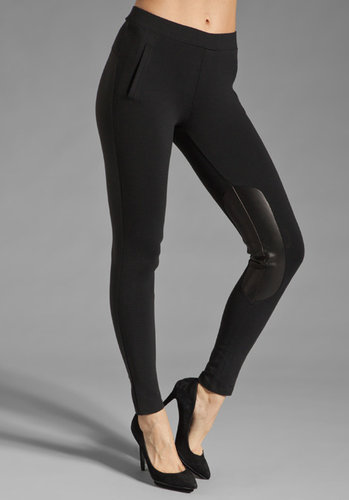 David Lerner Leather Riding Pant