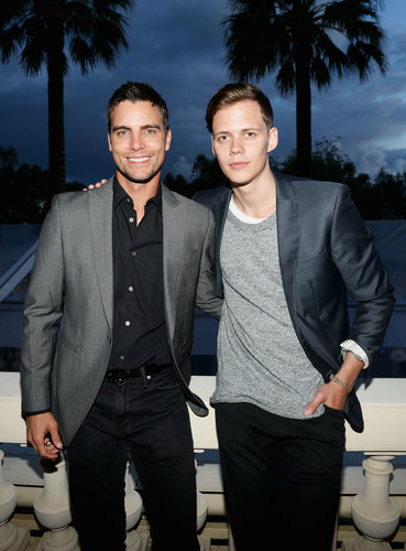 Colin Egglesfield and Bill Skarsgard told us of their interest in protecting endangered rhinos at Mammoth Entertainment's LyonHeartLove Foundation event.