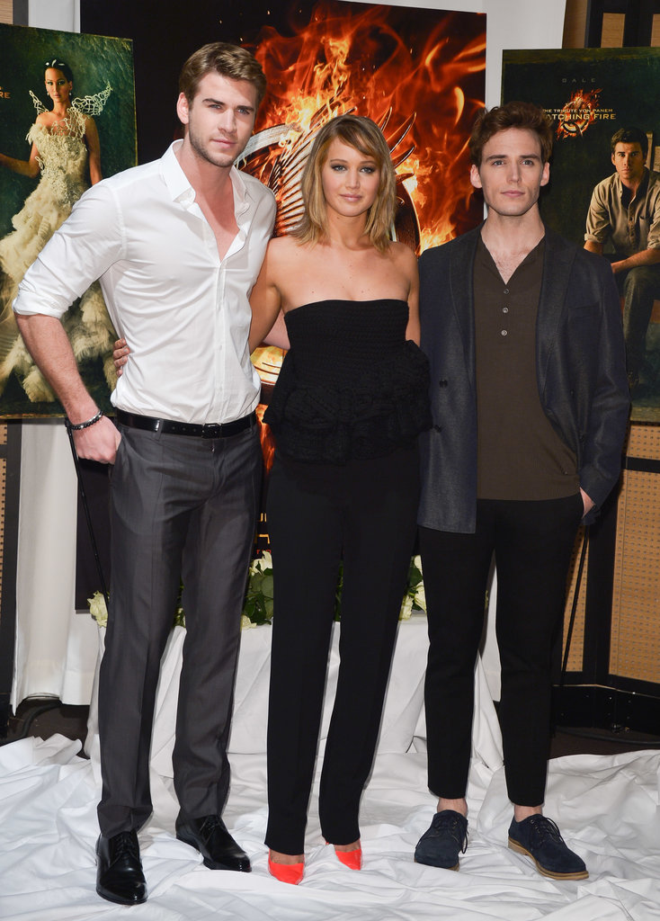 Jennifer Lawrence and Liam Hemsworth at Cannes PhotocallLiam Hemsworth And Jennifer Lawrence