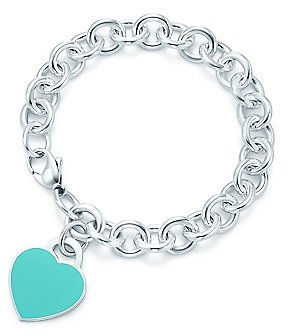 Return to TiffanyTM heart tag bracelet