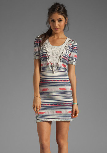 Maison Scotch Fringe Dress