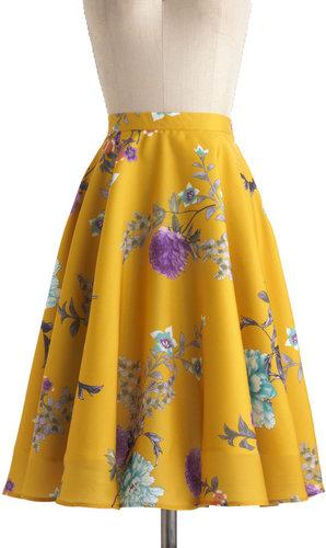 Eye for Ikebana Skirt