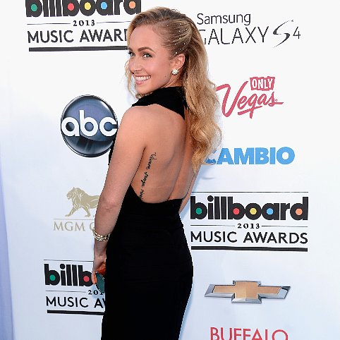Hayden Panettiere Dress Billboard Awards 2013