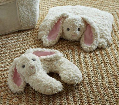 Bunny Plush Neck Pillow