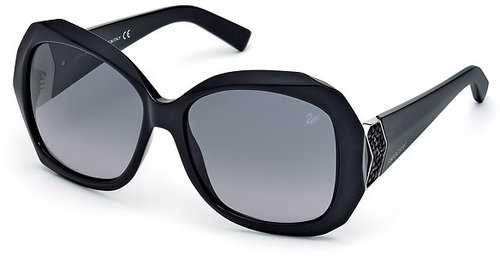 Capri Black Sunglasses