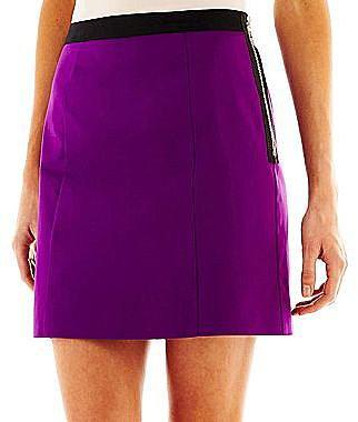 Worthington® Side-Zipper Mini Skirt