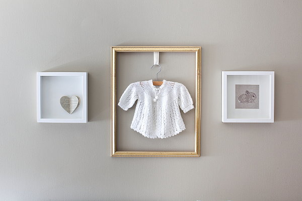 Use Hand-Me-Downs As Art