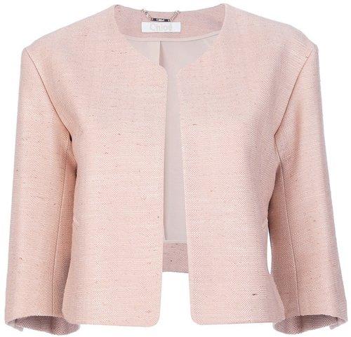 Chloé cropped silk jacket