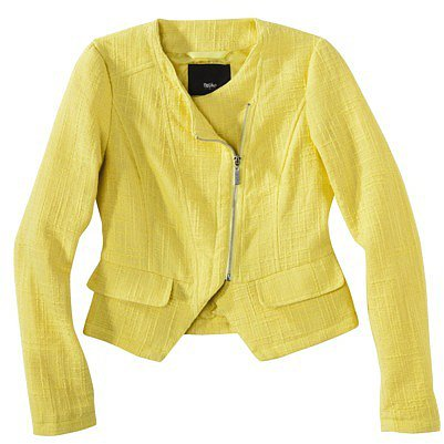 Mossimo® Women's Tweed Cropped Jacket -Assorted Colors