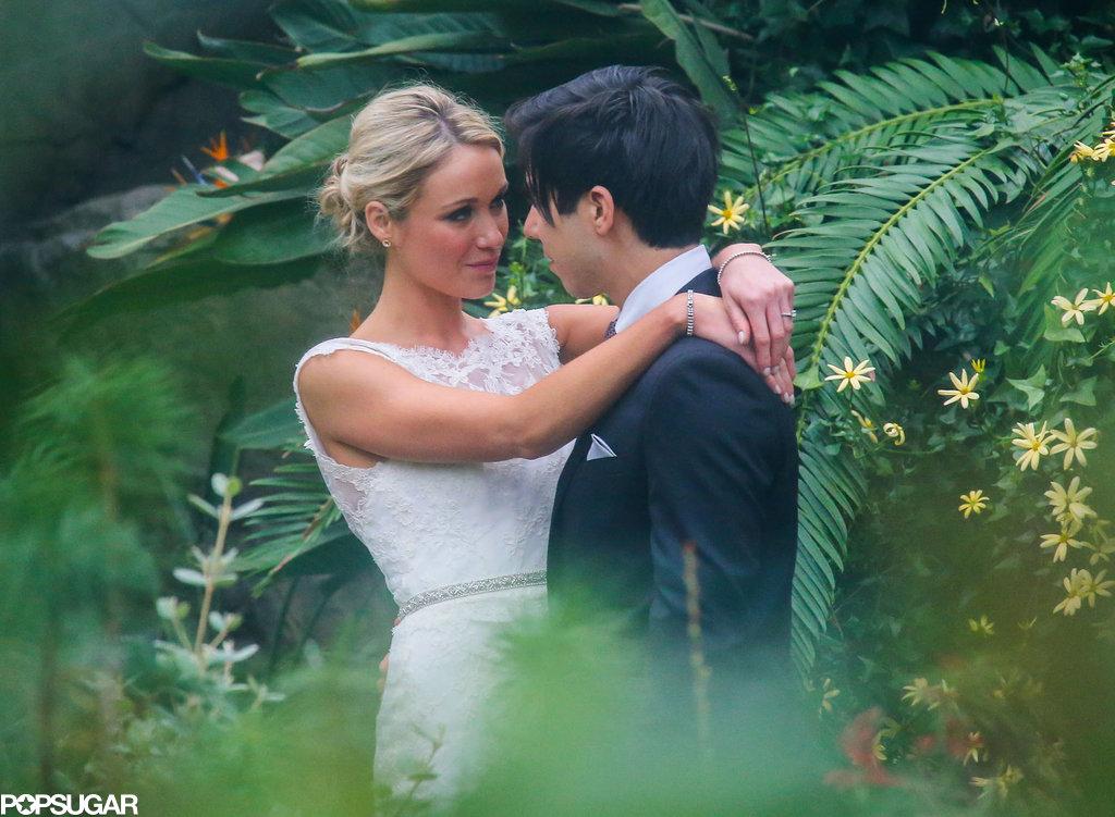 30 Rock's Katrina Bowden got married to Ben Jorgensen.