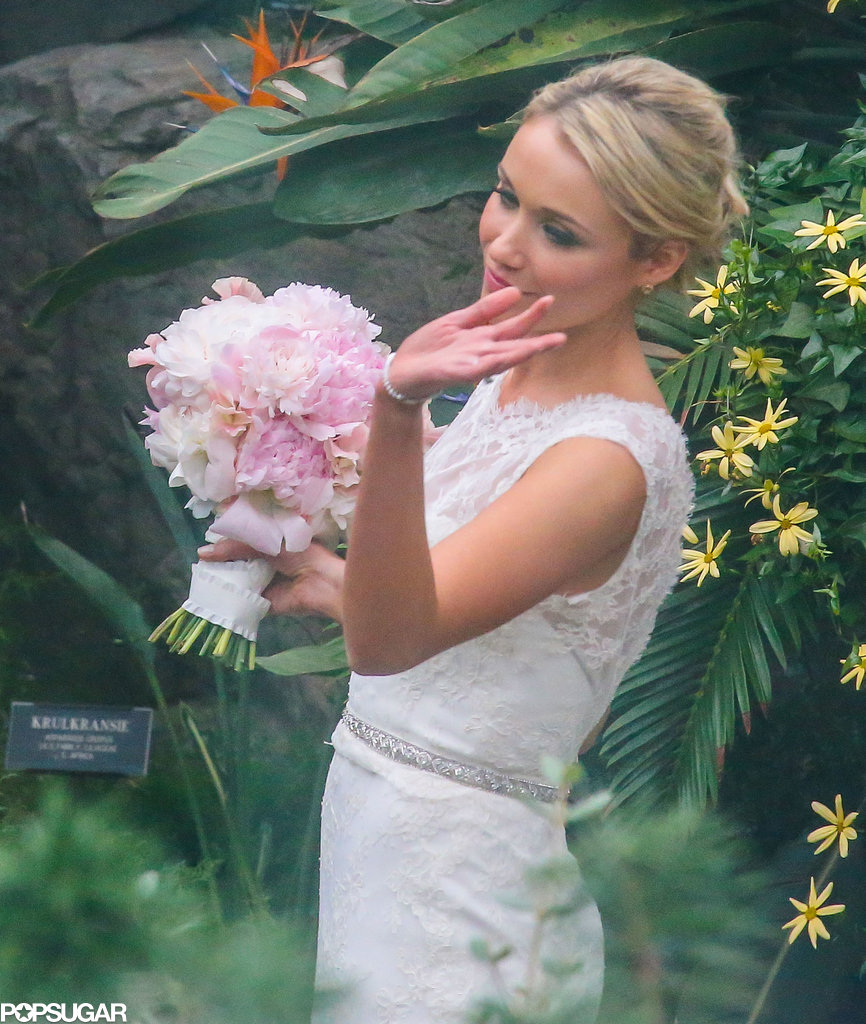 Katrina Bowden got married in Brooklyn.