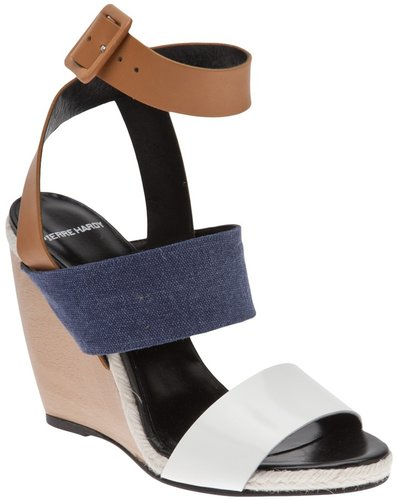 Pierre Hardy Tri-color wedge