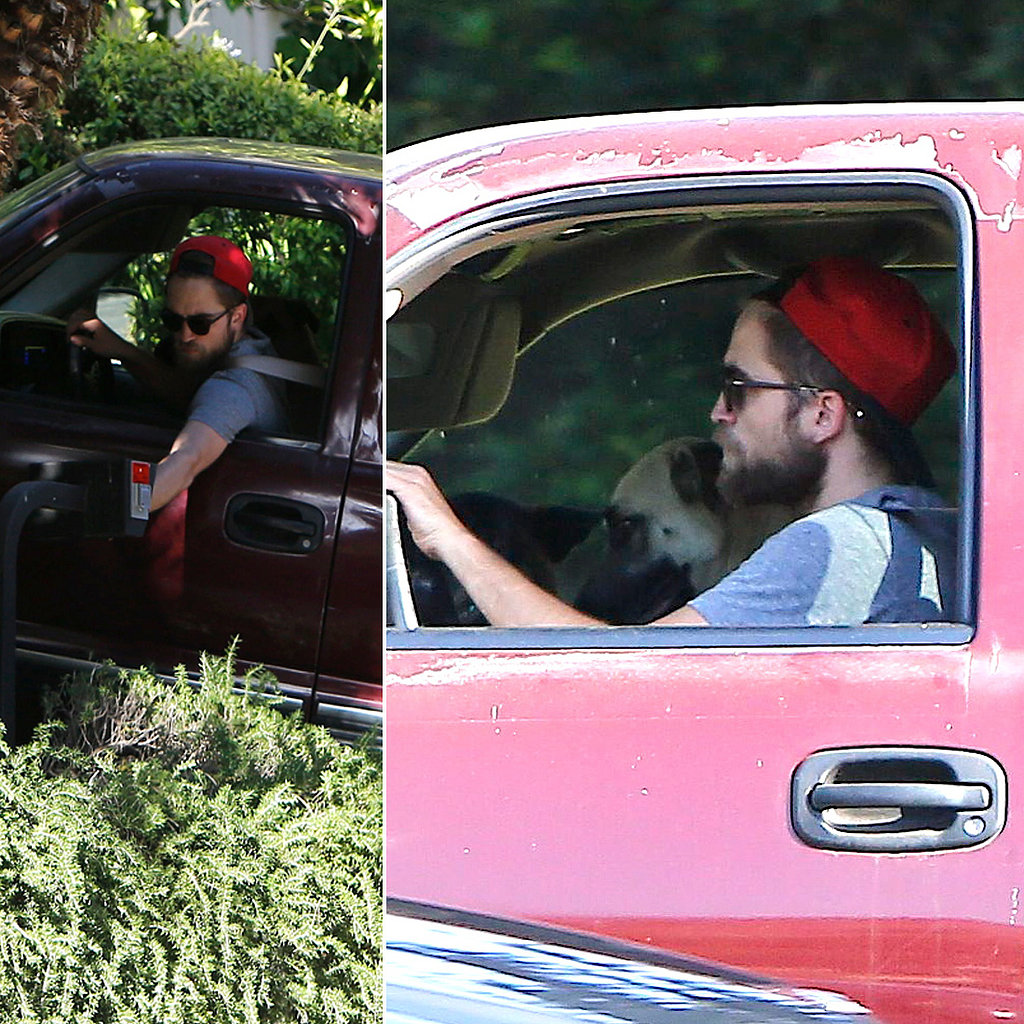 Is It Really Over? Rob Packs Up and Leaves Kristen's House With His Two Dogs