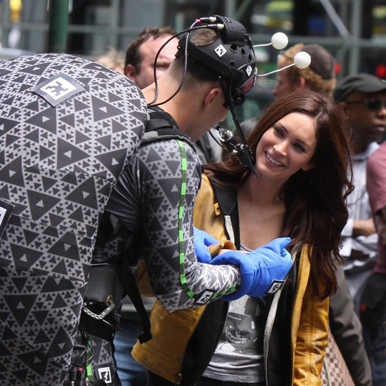 Megan Fox Filming Teenage Mutant Ninja Turtles in NY Photos
