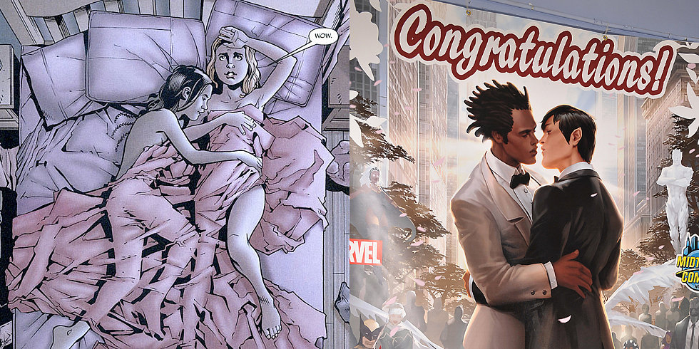 Comics Come Out With LGBT Characters and Themes