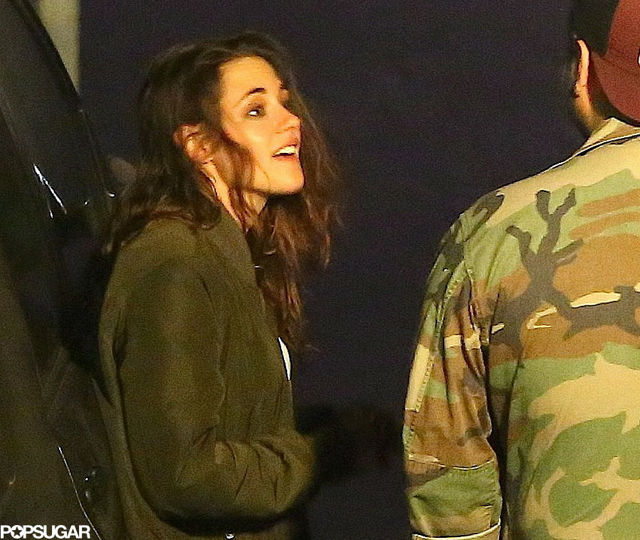 Kristen Stewart hit up a restaurant in LA last night.