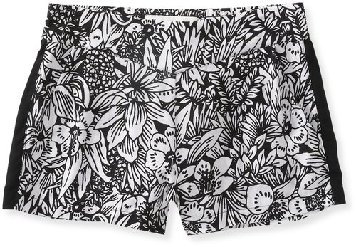 Soft Printed Shorty Shorts