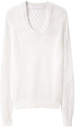 Thakoon Addition / Crochet Pullover