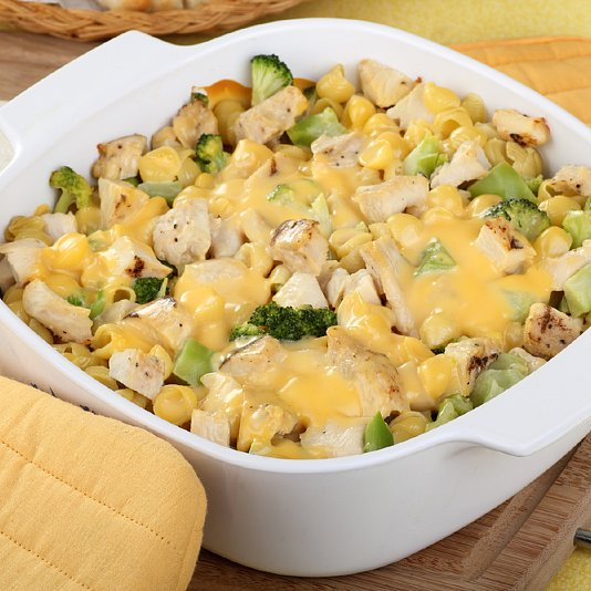 Chicken Broccoli Cheese Casserole For Kids