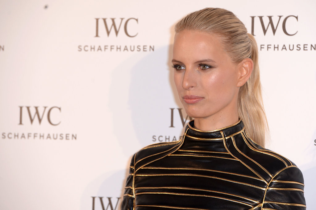 Karolina Kurkova went for a simple ponytail at the For the Love of Cinema event.