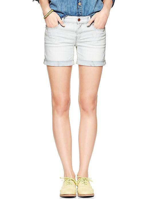 Add these Gap railroad stripe shorts ($50) to your closet — they will be relevant for years to come.