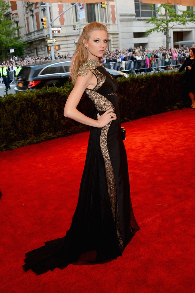 Taylor Swift: Met Gala, May, 2013