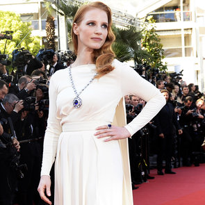 Jessica Chastain Wears Elizabeth Taylor's Cleopatra Pendant