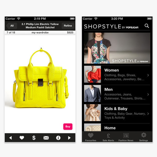 ShopStyle Mobile App   Best Shopping Phone Apps