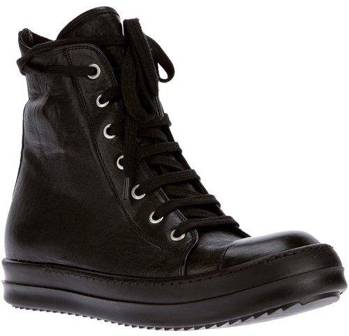 Rick Owens hi-top sneaker