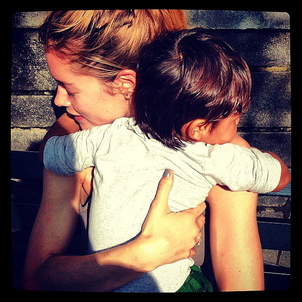 Doutzen Kroes got a sweet hug from her son, Phyllon, upon returning home from the Cannes Film Festival. Source: Instagram user doutzenkroes1